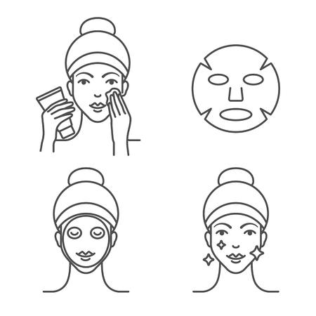 So verwenden Sie eine Blattmaske, Schritte.