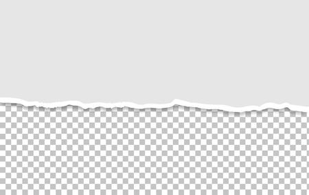 Maquette de papier déchiré Vecteurs