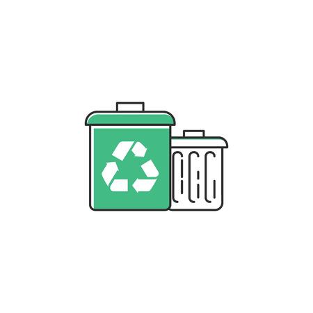 Garbage bins icon