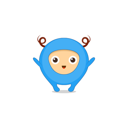 Hugs sticker, emoji, character design