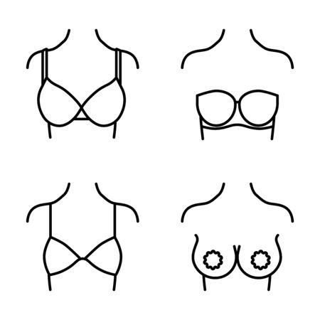 Wear a bra line style icon Stock fotó - 145860415