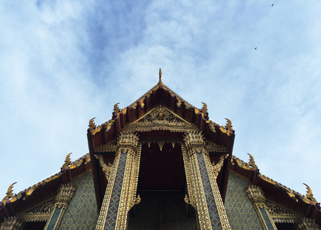 skyscapes: Thai temple