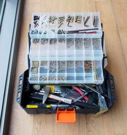 knockdown: carpenter tools box set