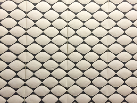 white brick tile with unique design