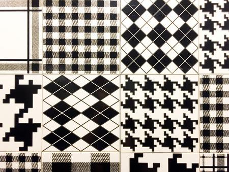 wall tile: random wall tile pattern