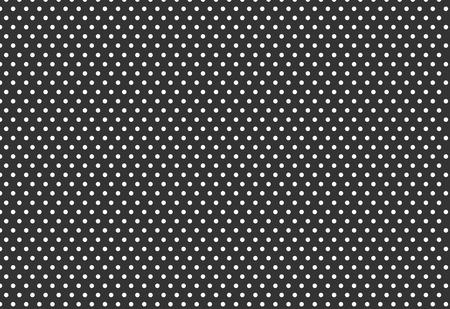 white polka dot on dark grey background