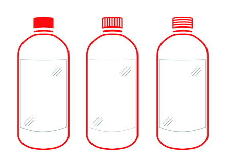 32,025 Plastic Bottles Stock Vector Illustration And Royalty Free ...