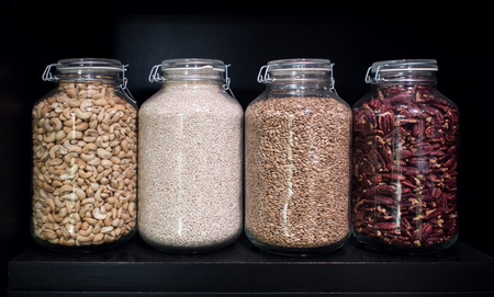 dried food: dried food materials