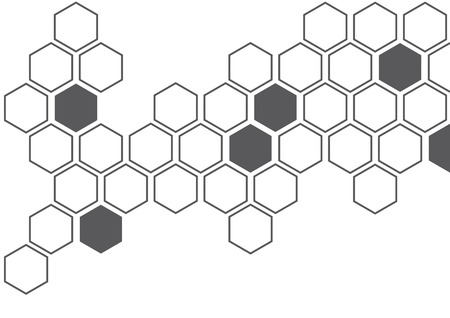 hexagon creative wall decoration