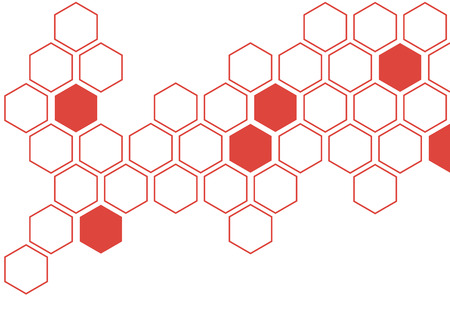 wall decoration: hexagon creative wall decoration