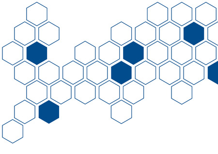 creative: hexagon creative wall decoration