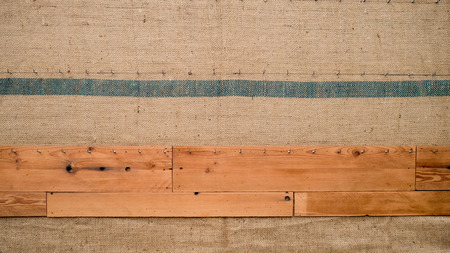fabric and wood background pattern
