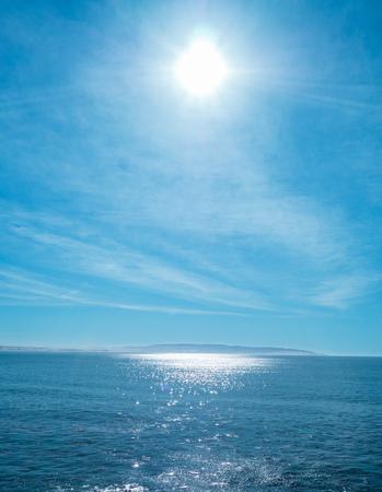 blue sky and ocean view. Sun rise Reklamní fotografie