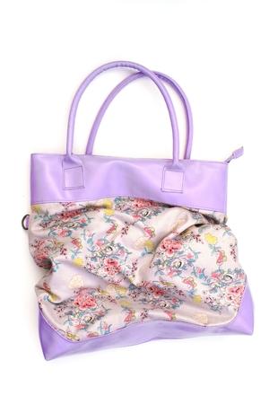 capacious: women bag Stock Photo