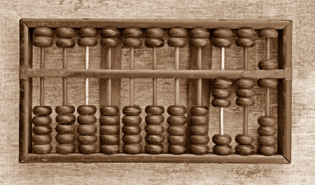 wooden abacus photo