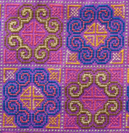 cross stitch photo