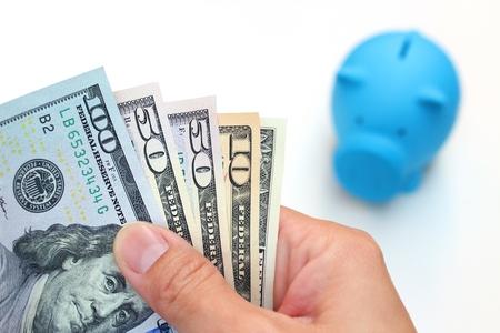 money saving Stock Photo