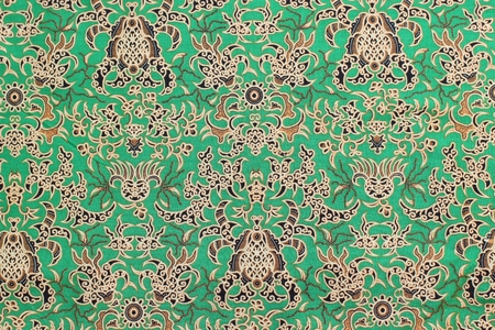 Batik Indonesia Stock Photo