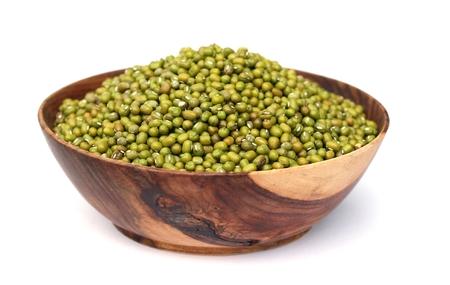 l nutrient: mung beans Stock Photo