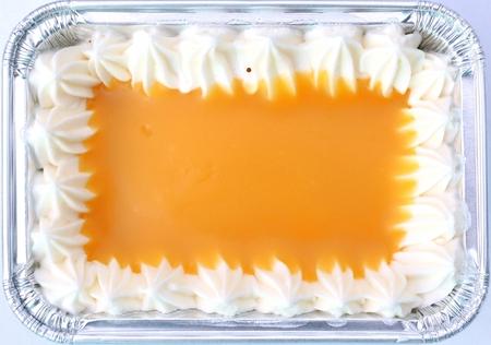 cake background: orange cake background