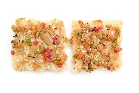 sesame cracker: crispy rice