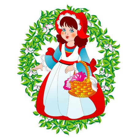 Vector Little Red Riding  Hood  Vector