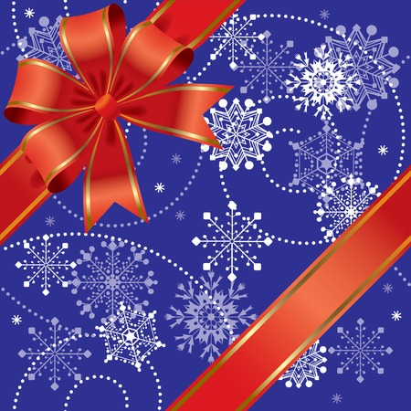 Vector Christmas gift seamless Stock Vector - 4940641