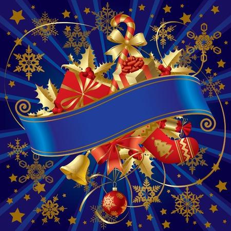 Vector Christmas banner