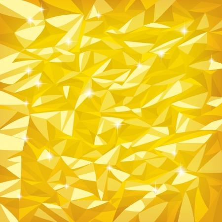 Vector bright gold foil texture Illustration