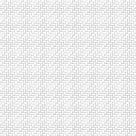 White fabric seamless pattern background. Vector illustration