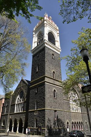 congregational: First Congregational Church, Portland Oregon. Established in 1851. Stock Photo