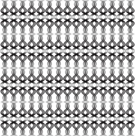swirl: Black line vector design for Background or Pattern Illustration