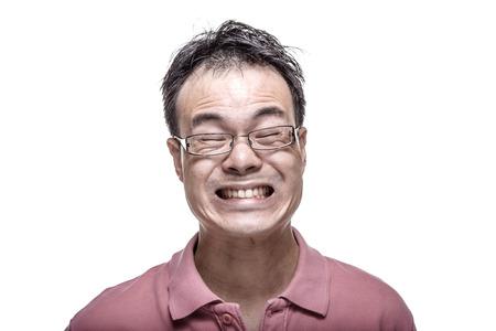 facial: Facial expression - Man grinning