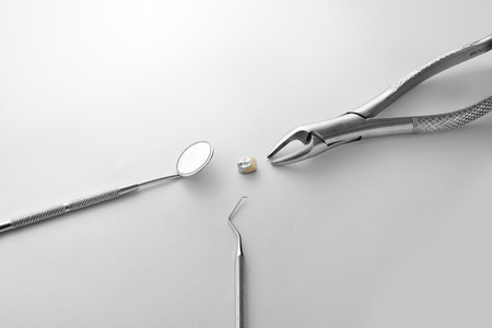 Health and Medical : Dental Instruments Stock Photo