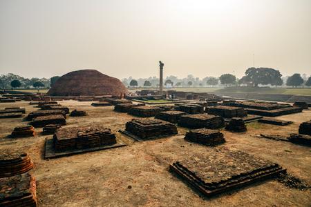 Life of India : Ancient Pillars of Ashoka in Vaishali