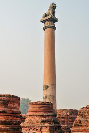 Life of India : Pillars of Ashoka in Vaishali