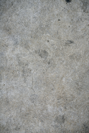 Concrete pavement with cracks texture