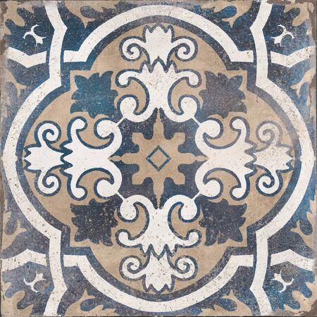 Portuguese ceramic pattern tile, moroccan pattern decorative tile