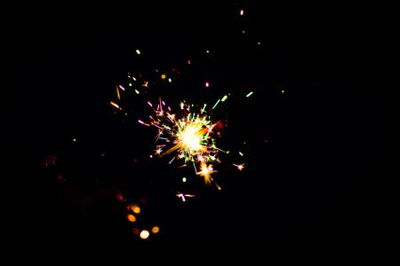 diwali sparkling crackers