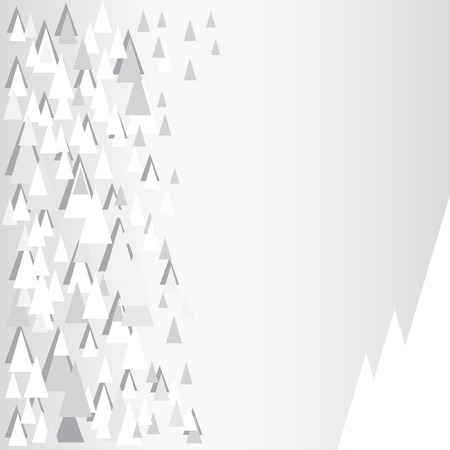 grey pattern: Grey pattern with decorative triangles and copy space