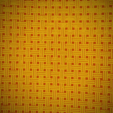weaving: Weaving yellow and brown background