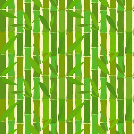 green bamboo: Seamless pattern of bamboo green sticks