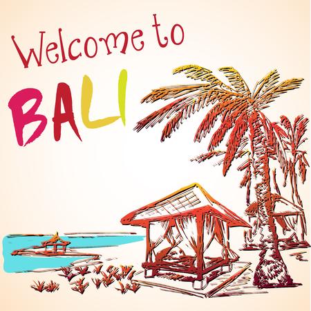 resort: Sea view of Bali resort