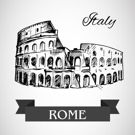 flavian: The Colosseum or Coliseum -  Flavian Amphitheatre