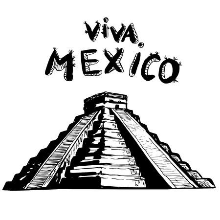 chichen itza: MEXICO - El Castillo, Chichen Itza