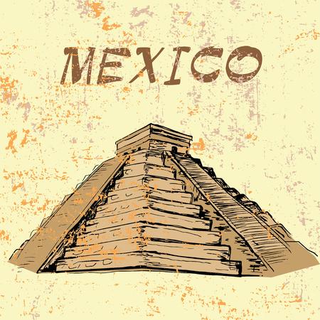 itza: MEXICO - El Castillo, Chichen Itza