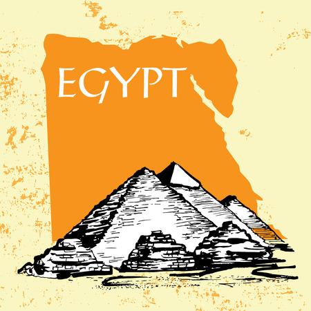 egyptian pyramids: Egyptian pyramids, Great Pyramid of Giza, Pyramid of Khafre