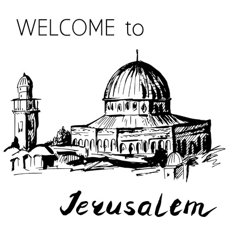 145 Jerusalem Wall Stock Illustrations, Cliparts And Royalty Free ...