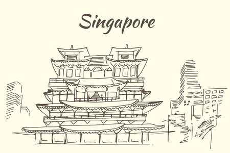 relic: The Buddha Tooth Relic Temple - Singapore