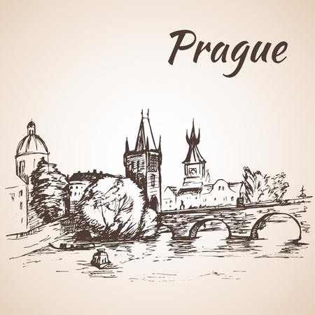 charles bridge: Czech Republic - Charles bridge